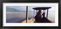 Framed Mekong River, Luang Prabang, Laos