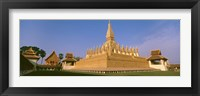 Framed Pha That Luang Temple, Vientiane, Laos
