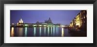 Framed Grand Canal, Venice, Italy (night)