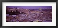 Framed Fes, Morocco at dusk