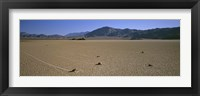Framed Panoramic View Of An Arid Landscape, Death Valley National Park, Nevada, California, USA