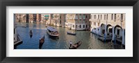 Framed Gondolas on the Water, Venice, Italy