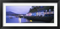 Framed Buildings On The Waterfront, Portree, Isle Of Skye, Scotland, United Kingdom