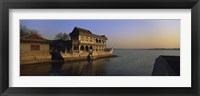 Framed Marble Boat In A River, Summer Palace, Beijing, China