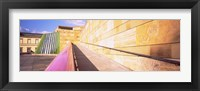 Framed Low Angle View Of An Art Museum, Staatsgalerie, Stuttgart, Germany