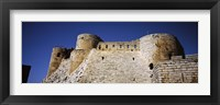 Framed Low angle view of a castle, Crac Des Chevaliers Fortress, Crac Des Chevaliers, Syria