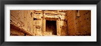 Framed Interiors of Cella the hollies part of a temple, Palmyra, Syria