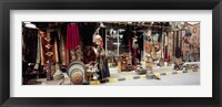Framed Group of objects in a market, Palmyra, Syria