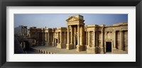 Framed Facade of a building, Palmyra, Syria