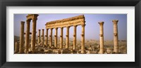Framed Ruins in Palmyra, Syria