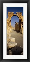 Framed Old Ruins Palmyra, Syria (vertical)