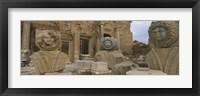 Framed Statues in Leptis Magna, Libya