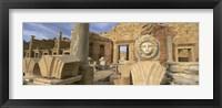 Framed Old ruins, Leptis Magna, Libya