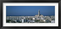 Framed High angle view of a city, Casablanca, Morocco