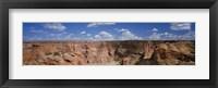 Framed Rock formations on a landscape, South Rim, Canyon De Chelly, Arizona, USA