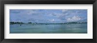 Framed Boats in the sea, Mangrove Bay, Sandys Parish, West End, Bermuda