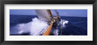 Framed Sailboat in the sea, Antigua, Antigua and Barbuda