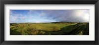 Framed Golf course on a landscape, Royal Troon Golf Club, Troon, South Ayrshire, Scotland