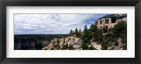 Framed Low angle view of a building, Grand Canyon Lodge, Bright Angel Point, North Rim, Grand Canyon National Park, Arizona, USA