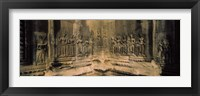 Framed Carvings  in a temple, Angkor Wat, Cambodia
