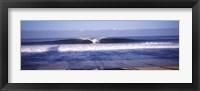 Framed Waves in the sea, North Shore, Oahu, Hawaii, USA