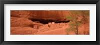 Framed Ruins of house, White House Ruins, Canyon De Chelly, Arizona, USA