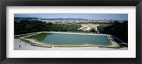 Framed Pond at a palace, Schonbrunn Palace, Vienna, Austria