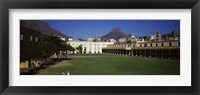 Framed Courtyard of a castle, Castle of Good Hope, Cape Town, Western Cape Province, South Africa