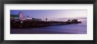 Framed Santa Monica Pier Ferris Wheel, Santa Monica, California