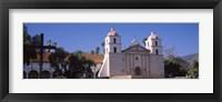 Framed Facade of a mission, Mission Santa Barbara, Santa Barbara, California, USA