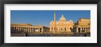 Framed St. Peter's Basilica, Rome