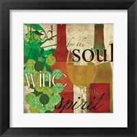 Wine for the Spirit Framed Print