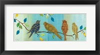 Framed Bird Chat I
