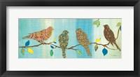 Framed Bird Chat II
