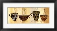 Cafe Exotica I Framed Print