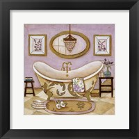 Lavender Bath II Framed Print