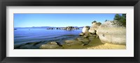 Framed Boulders at the Coast, Lake Tahoe, California