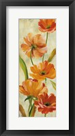 Flower Dance II Framed Print