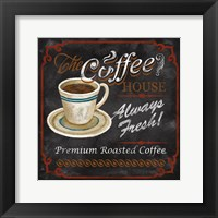 Framed Coffee House