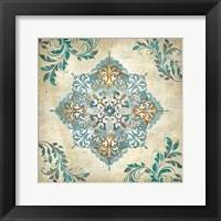 Arabesque I Framed Print