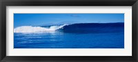 Framed Ocean View with Small Wave