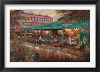 Framed Cafe de Monde