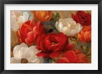 Jardin de Corail Framed Print