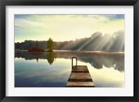Framed On Juniper Lake