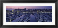 Framed Marseille, Bouches-Du-Rhone, Provence-Alpes-Cote d'Azur, France