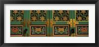 Framed Buddhist temple Paintings, Kayasan Mountains, Haeinsa Temple, Gyeongsang Province, South Korea