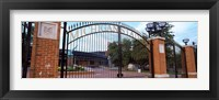 Framed Stadium of a university, Michigan Stadium, University of Michigan, Ann Arbor, Michigan, USA
