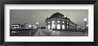 Framed Bode-Museum on the Museum Island at the Spree River, Berlin, Germany