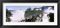 Framed Floodwaters at Iguacu Falls, Argentina-Brazil Border