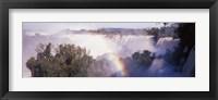 Framed Iguacu Falls, Argentina-Brazil Border